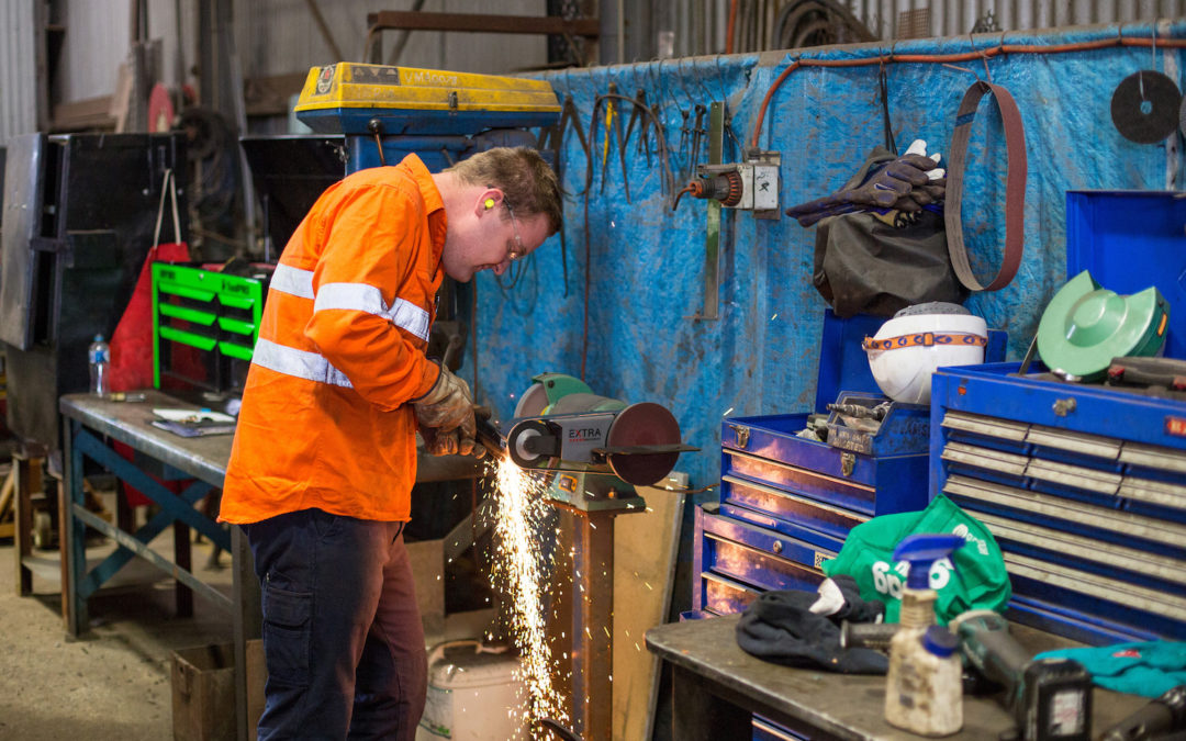 Steel fabrication business, NSW