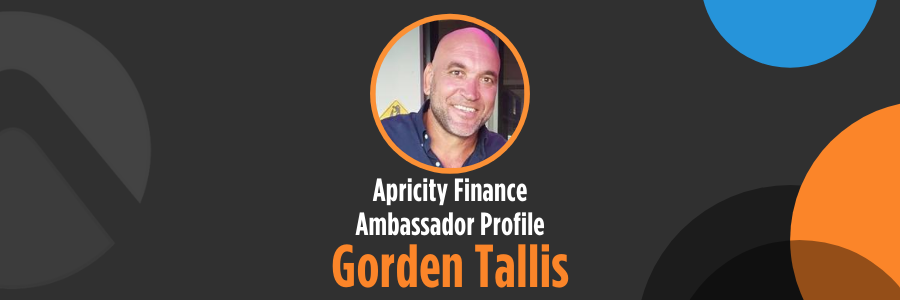 Gorden Tallis – Apricity Finance Ambassador Profile